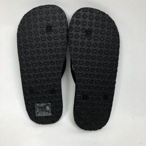 2e58e120f3dc2 HURLEY Shoes - HURLEY Black   White Logo Unisex Size 8 Flip Flops